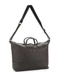 Hugo Boss Leather Travel Bag - Lyst