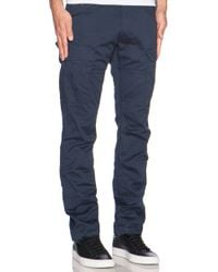 G-Star RAW Rovic Slim Cargo blue - Lyst