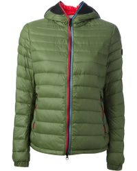 Riders on the Storm - Goggle Detail Padded Jacket - Lyst