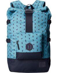 Nixon Swamis Backpack blue - Lyst
