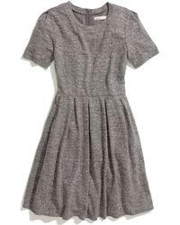 Madewell Sweatshirt Dress - Lyst