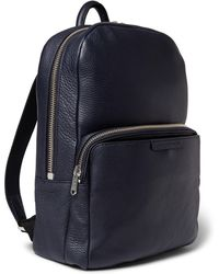 Marc By Marc Jacobs Full-grain Leather Backpack - Lyst