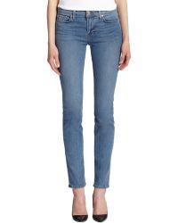 J Brand Mid-rise Rail Skinny Jeans - Lyst