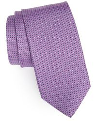 JZ Richards Dot Silk Tie - Purple
