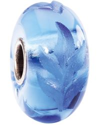 Trollbeads - Engraved Poetic Fine Italian Glass Bead - Lyst