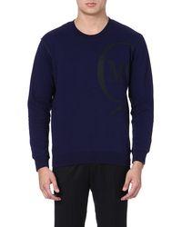 McQ by Alexander McQueen Mcq Logo Sweatshirt Alexander Mcqueen Navy - Lyst