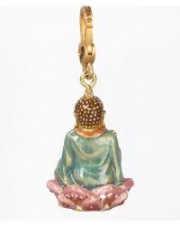 Jay Strongwater Buddha Charm - Lyst
