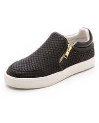 Ash Intense Slip On Sneakers - Blackblack - Lyst