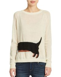 French Connection Dachshund Sweater - Lyst
