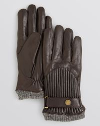 Ralph Lauren Polo Quilted Racing Touch Gloves - Lyst