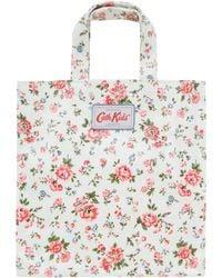 Cath Kidston - Cream Bramley Spring Mini Shopper Bag - Lyst
