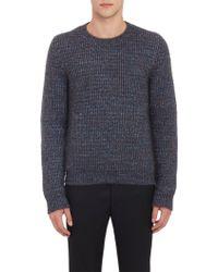 Raf Simons Extra-Long Sleeve Crewneck Sweater - Lyst