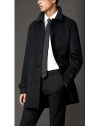 Burberry Wool Cashmere Car Coat - Lyst