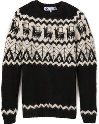 Industry Of All Nations Alpaca Hand Knit Sweater - Lyst