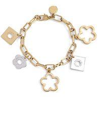 Marc By Marc Jacobs 'Diamonds & Daisies' Flower Charm Bracelet - Oro Multi - Lyst