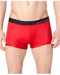 Calvin Klein Mens Bold Micro Limited Edition Low Rise Trunk - Lyst