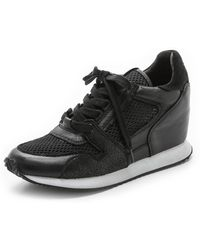Ash Dean Mesh Sneakers - Blackblackblack - Lyst