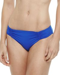 L Space Swimwear By Monica Wise Estella Sensual Solids Swim Bottom - Lyst