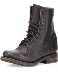 Freebird Charlie Leather Combat Boot - Lyst