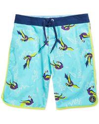 "Volcom The Bird 20"" Board Shorts - Lyst"