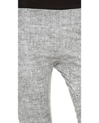 Jay Ahr - Leather Trompe Loeil Pants - Lyst