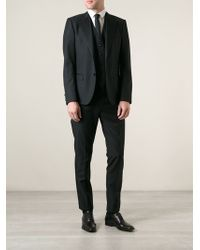Dolce & Gabbana Classic Three Piece Suit - Lyst