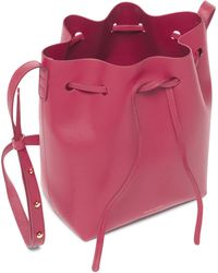 Mansur Gavriel | Mini Calf Bucket Bag | Lyst