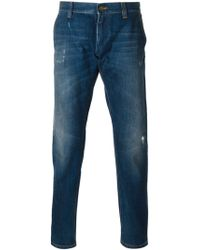 Dolce & Gabbana Stone Washed Jeans - Lyst