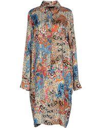 Mirto - Knee-Length Dress - Lyst