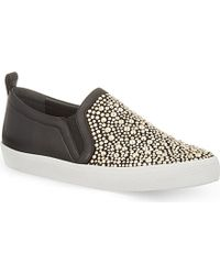 Gina - Gioia Embellished Trainers - Lyst