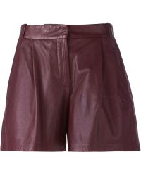 Paul by Paul Smith - Front Zip Wide Shorts - Lyst