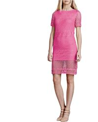 Julia Jordan - Crochet Sheath Dress - Lyst