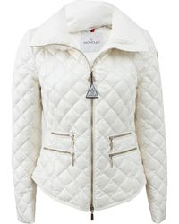 Moncler Guery Fitted Zip Front Jacket - Lyst
