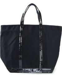 Vanessa Bruno Sequins Embroidered Tote Bag - Lyst