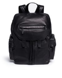 Alexander Wang - 'marti' Washed Leather Backpack - Lyst