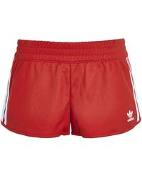Topshop | Three Stripe Shorts By Adidas Originals | Lyst