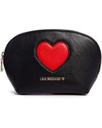 Love Moschino | Peace Love Cosmetic Case | Lyst