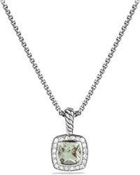 David Yurman Small Box Chain Necklace - Lyst