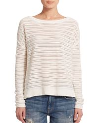 Joie Edna Striped Sweater - Lyst