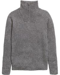 H&M   Rib-knit Jumper   Lyst