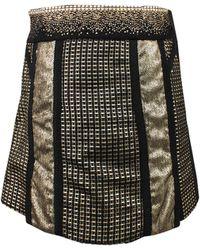 Marchesa Voyage   Embellished Mini Skirt   Lyst