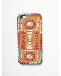 Free People Leather Iphone Case - Lyst