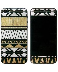 Blissfulcase - Aztec 3d Gel Skin White For Iphone 5 - Lyst