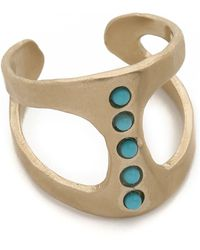 Pascale Monvoisin - Georgia Ring - Gold/Turquoise - Lyst