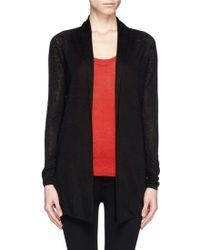 Theory Kalaray Open Front Cardigan - Lyst