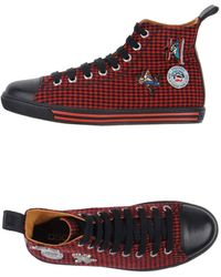 DSquared2 Hightops Trainers - Lyst