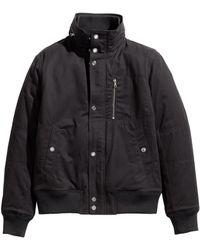 H&M Short Twill Jacket - Lyst