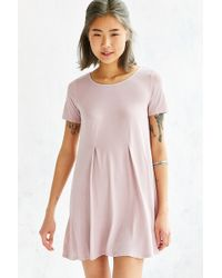 Silence + Noise Riley Trapeze Dress - Lyst