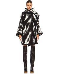 Chloé Zig Zag Blanket Sweater - Lyst
