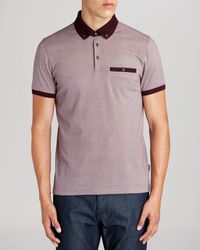 Ted Baker Wooksee Print Polo - Lyst